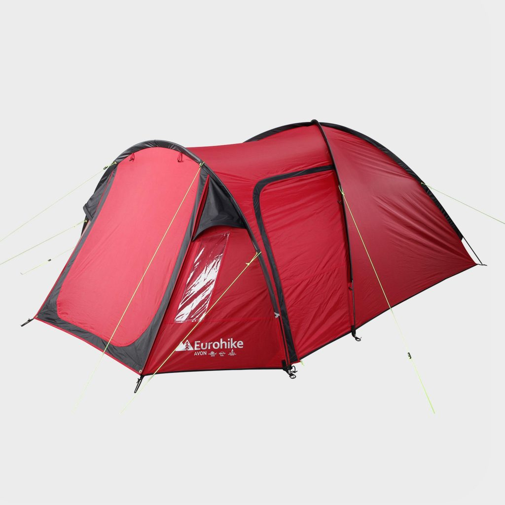Eurohike Avon Deluxe 3 Person Tent